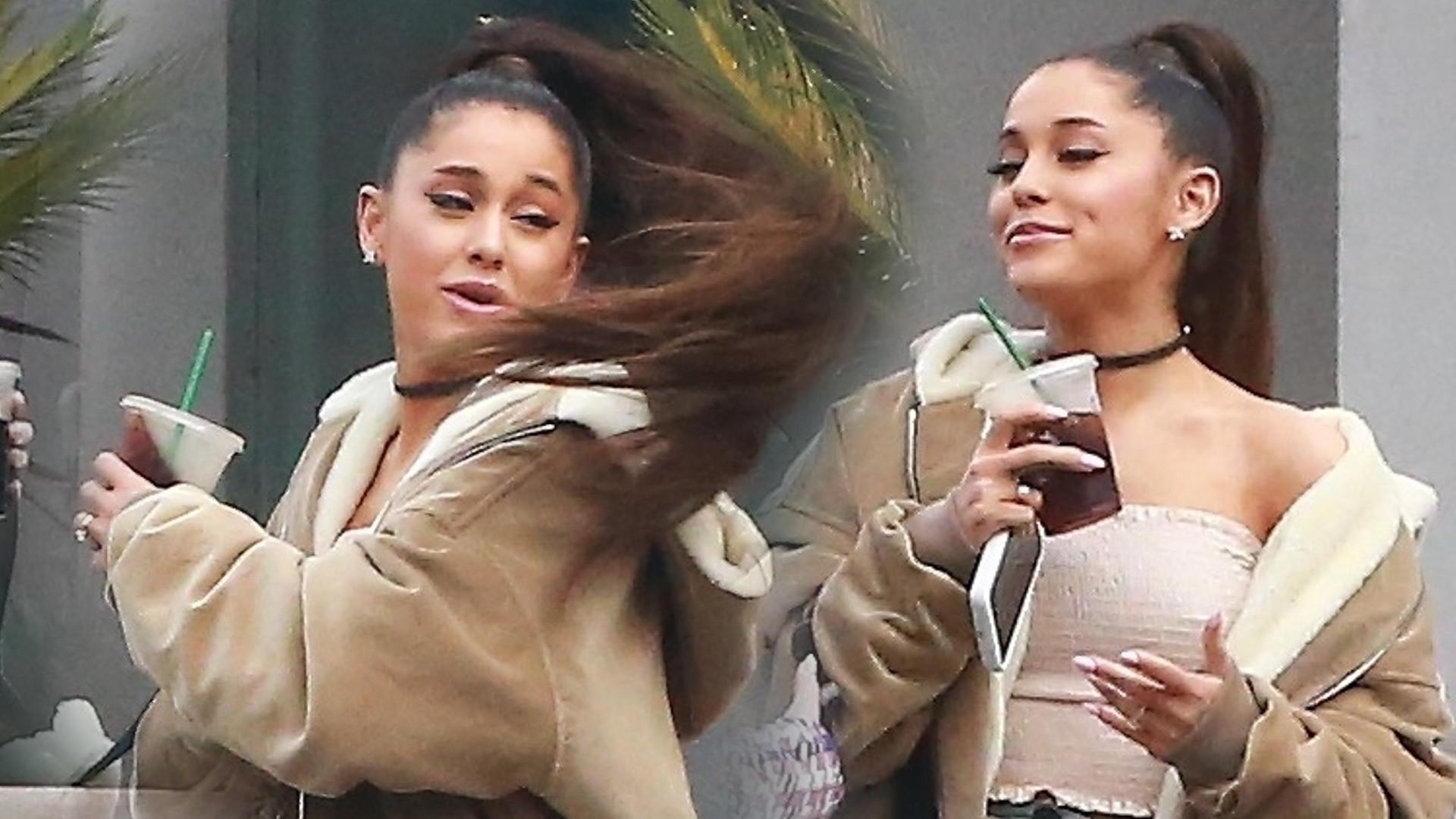 Kupujcie DUŻO gumek – Ariana Grande lansuje nową fryzurę (ZDJĘCIA)