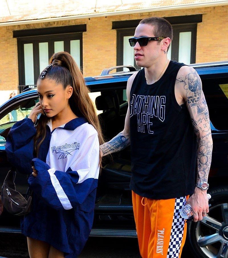 Pete Davidson USUNĄŁ tatuaż, który zrobił dla Ariany Grande