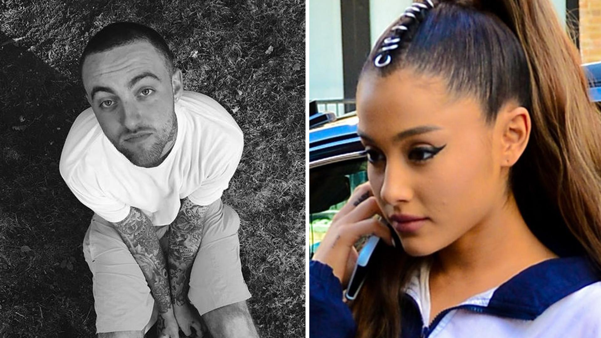 Ariana Grande przerywa MILCZENIE po śmierci Mac Millera
