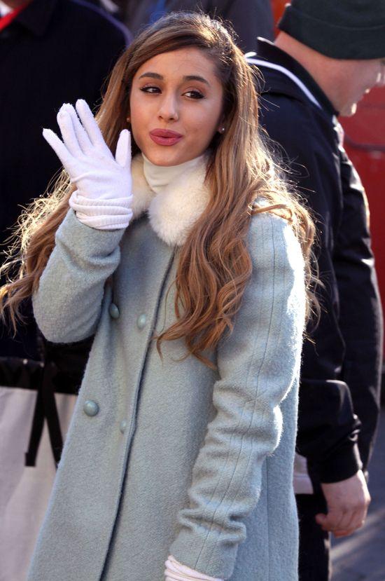 Ariana Grande prawie rozpłakała się na rozdaniu Grammy