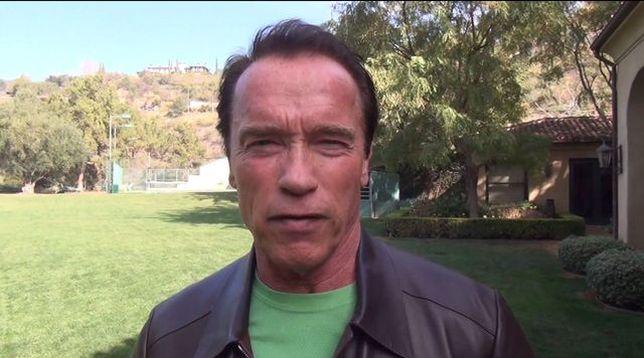 Arnold Schwarzenegger przesyła wiadomość dla Ukraińców