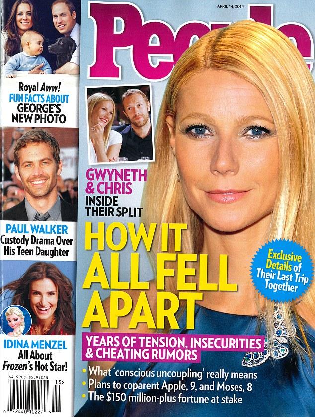 Jak Gwyneth Paltrow zareagowała na nagie zdjęcia Lawrence?