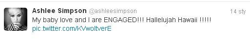 Ashlee Simpson zaręczona!