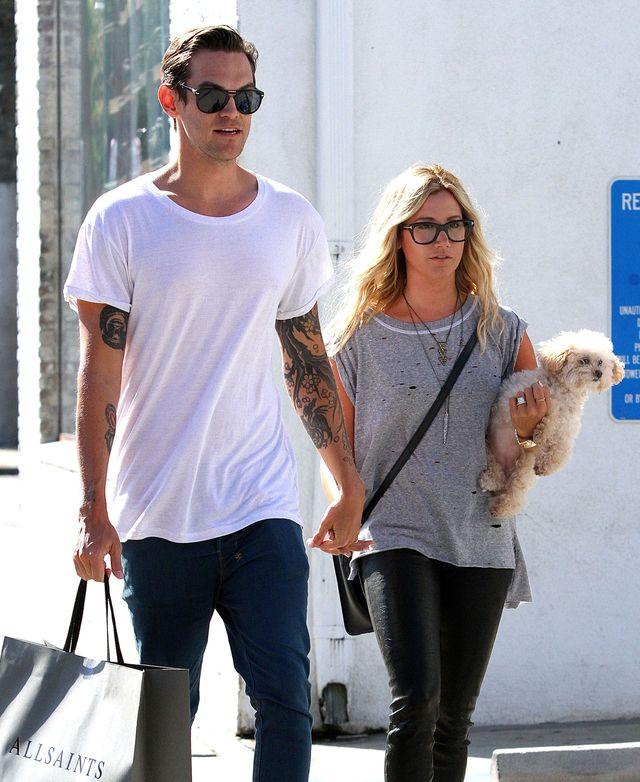 Ashley Tisdale ma lawendowe włosy (FOTO)