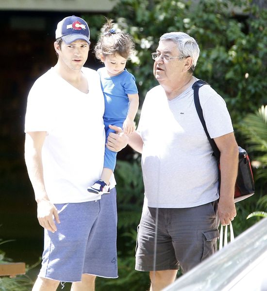 Wyatt Kutcher siarczyście przeklnęła. Co na to tatuś?