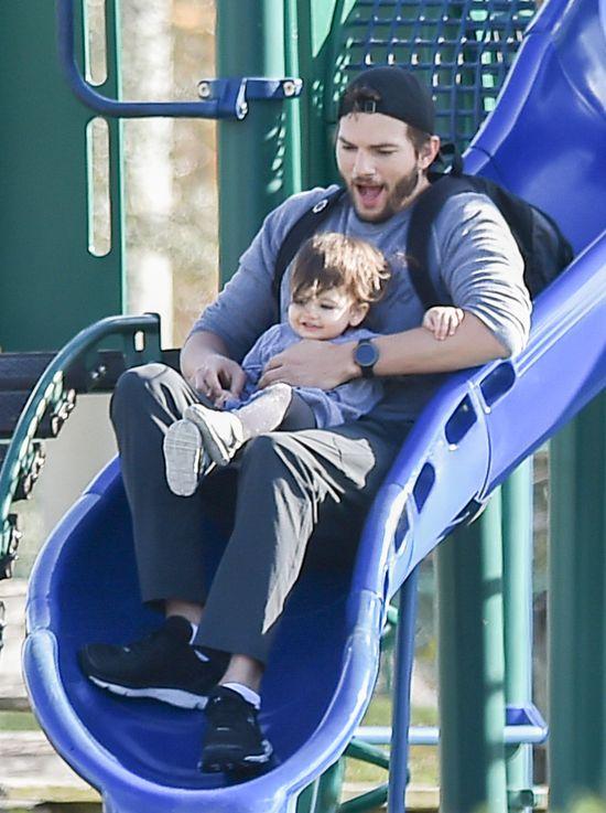 Ashton Kutcher jest najfajniejszym ojcem w Hollywood?