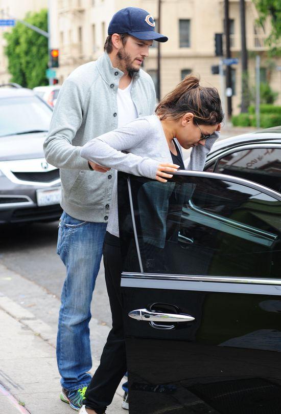 Mila Kunis bardzo chciała uniknąć paparazzi (FOTO)