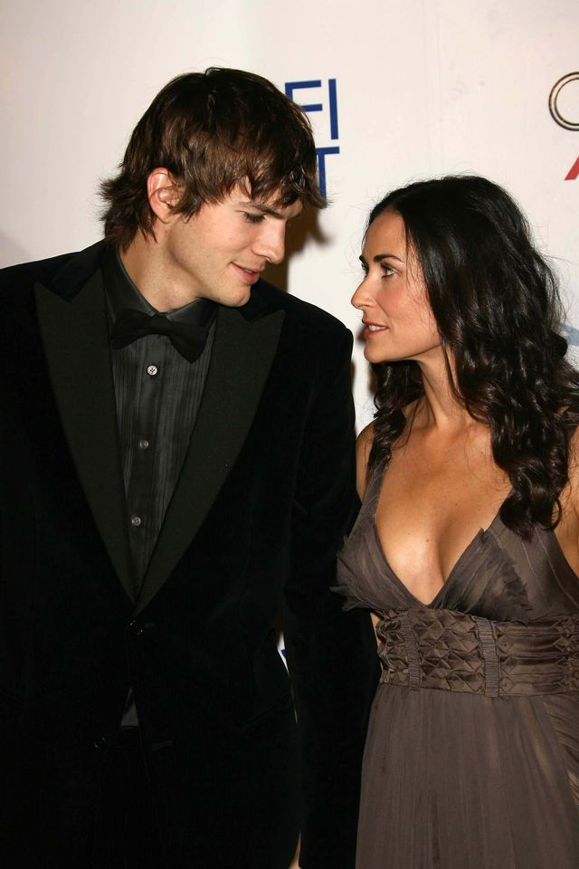 Demi Moore źle zniosła rozstanie z Ashtonem. Teraz musiała się z nim spotkać!