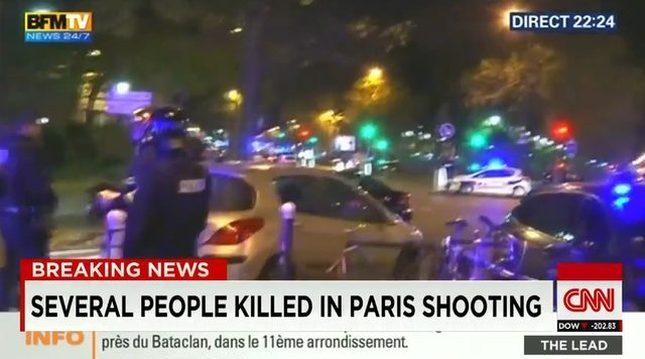 Szok. Seria ataków w Paryżu