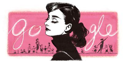 Google upamiętnił 85. rocznicę urodzin Audrey Hepburn