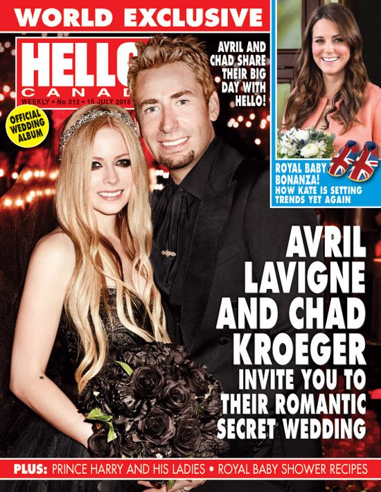 Co Avril Lavigne dostała od męża na rocznicę ślubu?