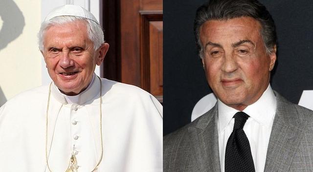 Sylvester Stallone i Benedykt XVI UŚMIERCENI przez media!