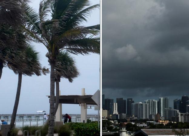 Huragan Irma nad Florydą