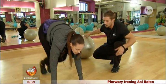 Trening w wydaniu Ani Bałon (VIDEO)