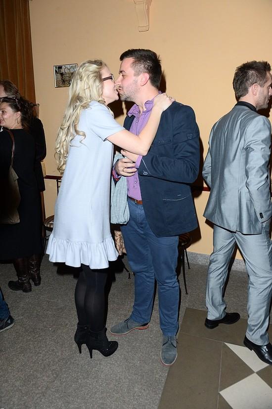 Basia Kurdej-Szatan z mężem na premierze sztuki (FOTO)