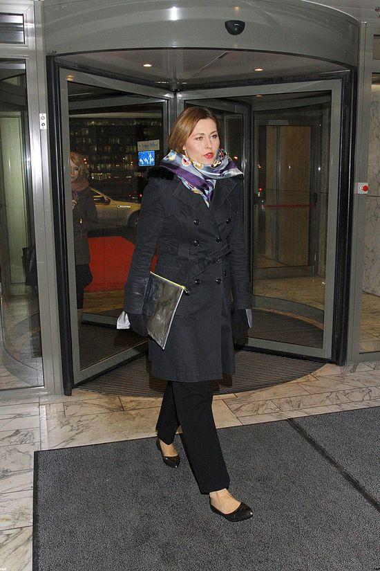 Beata Sadowska o chwilach grozy w samolocie