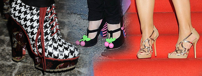 Ma słabość do oryginalnych butów (FOTO)