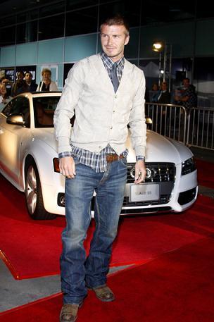 Beckham nazwał swojego syna na część Toma Cruise'a
