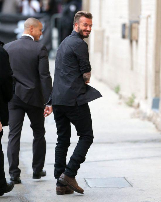 To zdjęcie Davida Beckhama z córką potrafi rozczulić (Insta)