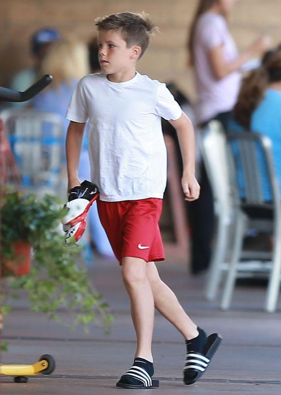 Beckhamowie i Ramsey'owie na wspólnym wypadzie (FOTO)