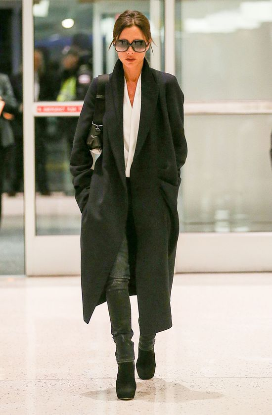 Victoria Beckham z synem - kto bardziej stylowy? (FOTO)