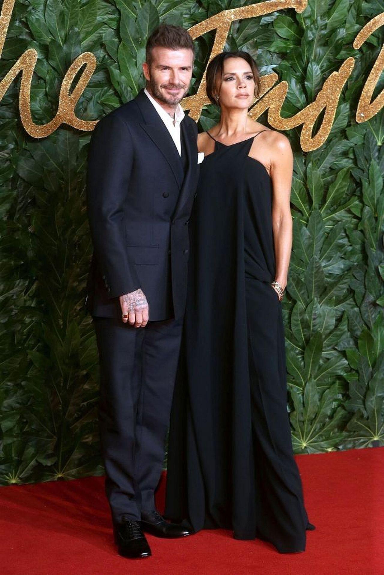 DZIWNE zachowanie Victorii i Davida na gali Fashion Awards