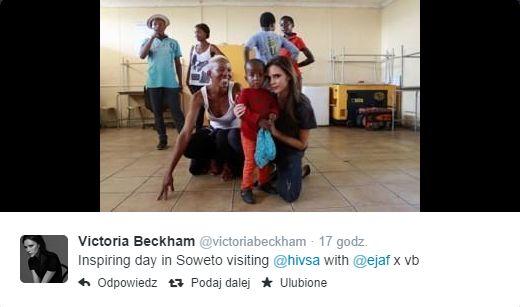 Victoria Beckham na misji (FOTO)