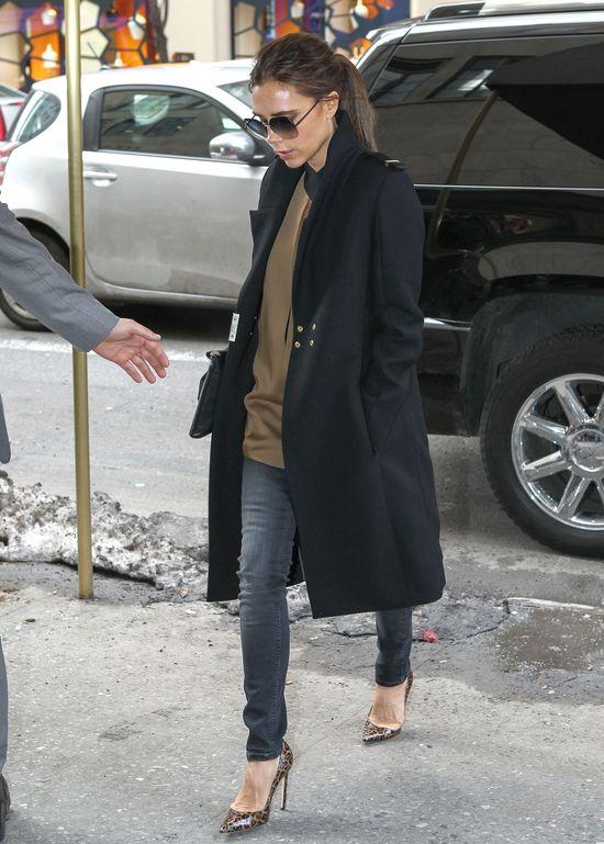Victoria Beckham bez przedłużanych włosów (FOTO)