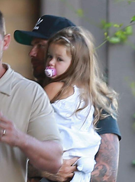 Beckhamowie i Ramsey'owie na wsp�lnym wypadzie (FOTO)