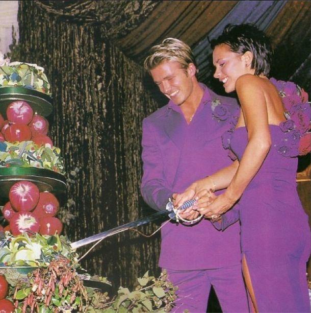Tak Beckhamowie �wi�towali 16. rocznic� ma��e�stwa (Insta)