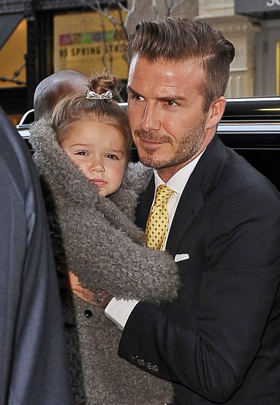 Rodzina Victorii Beckham wspiera j� podczas NYFW (FOTO)