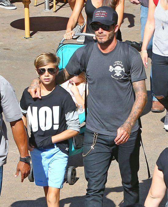 W dobie rozwodów miło popatrzeć na rodzinę Beckhamów (FOTO)