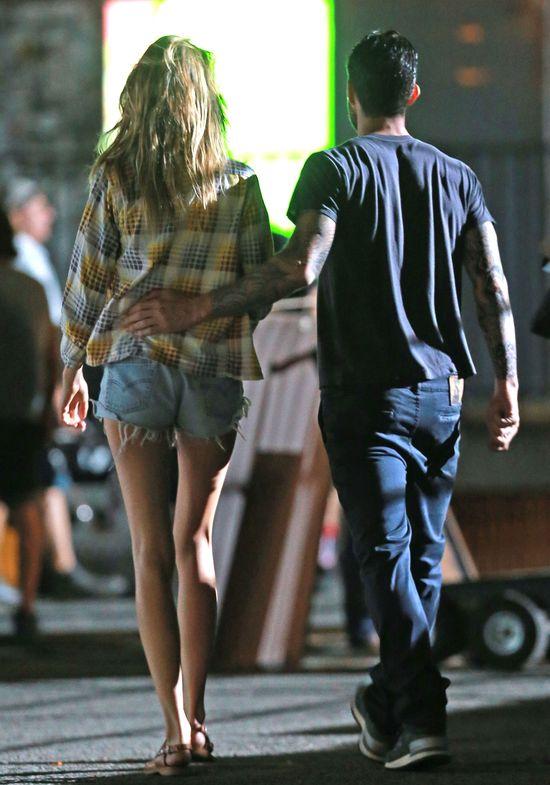 Adam Levine i Behati Prinsloo pracują razem (FOTO)