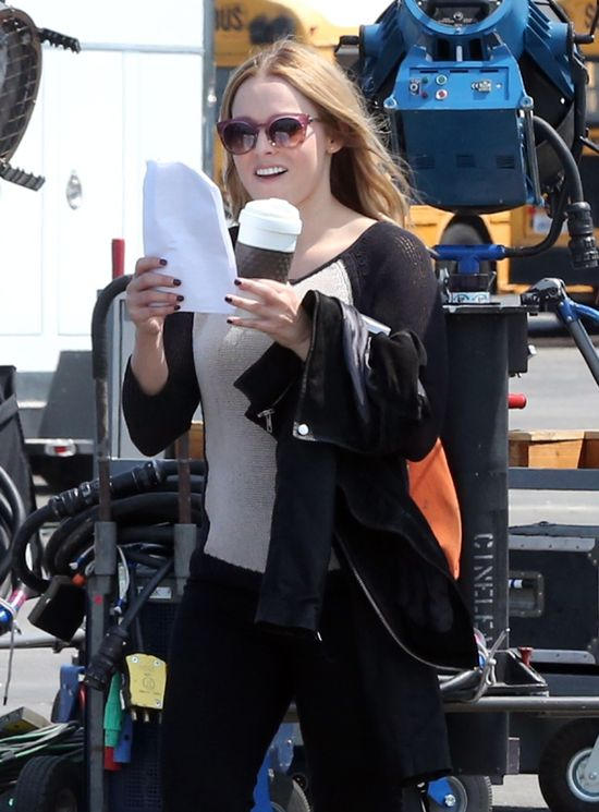 Kristen Bell niecałe 4 miesiące po porodzie (FOTO)