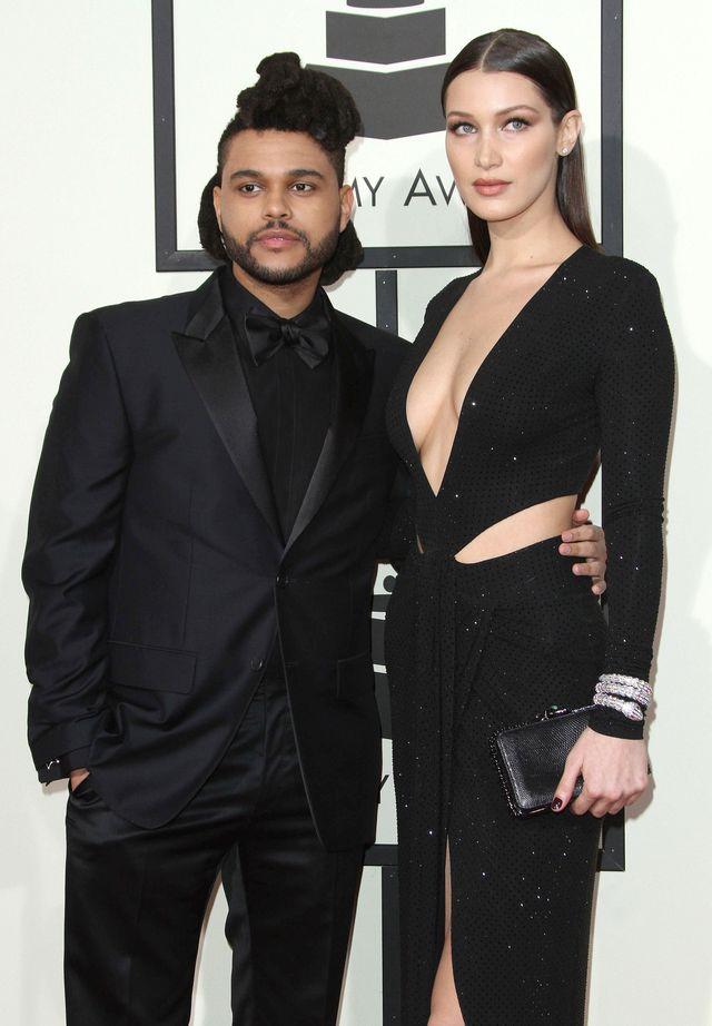 The Weeknd wybiega od Belli Hadid. Miał nadzieję, że nikt go nie zobaczy