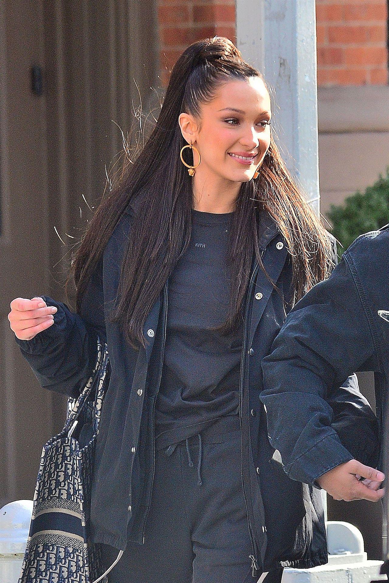 Bella Hadid wygląda PIĘKNIE w tej fryzurze (ZDJĘCIA)
