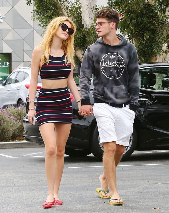 Zakochana Bella Thorne na ustawce z chłopakiem (FOTO)