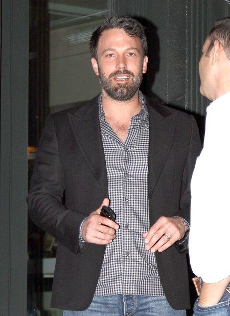 Ben Affleck - seksowny tatuś (FOTO)