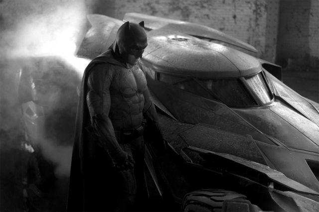 Pierwsze zdjęcie Bena Afflecka w roli Batmana (FOTO)