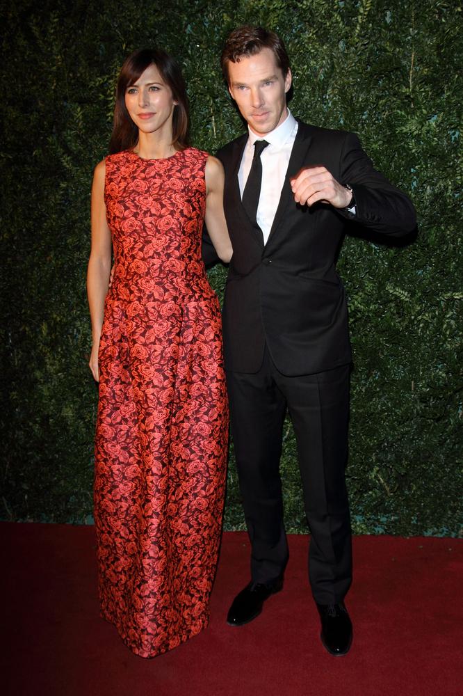 Benedict Cumberbatch z narzeczoną na salonach (FOTO)