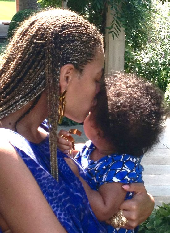 Beyonce zabrała Blue Ivy do Nori West