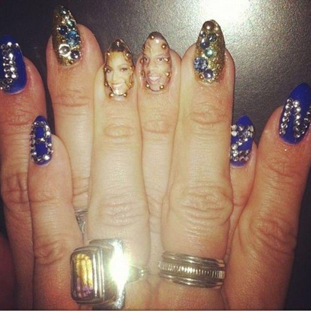 Beyonce i Jay-Z na paznokciach (FOTO)