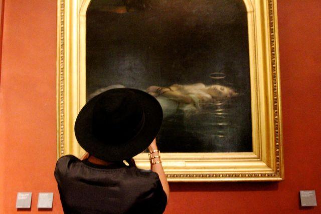 Państwo Carter obfotografowali się w Luwrze (FOTO)