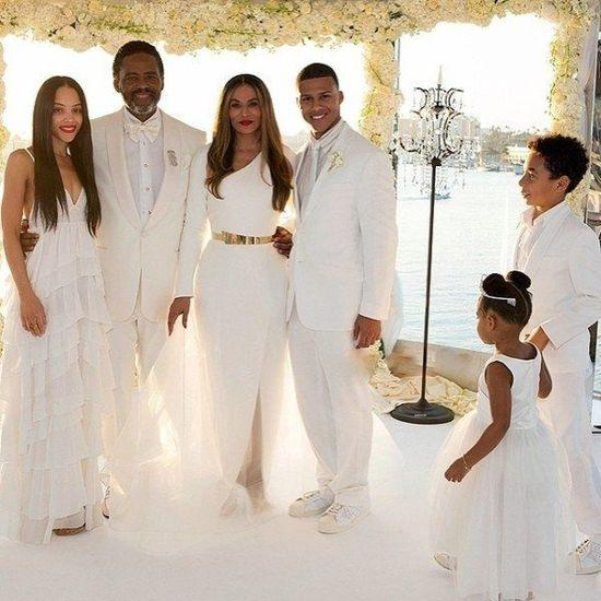 Tina Knowels wzięła ślub ze względu na Blue Ivy?