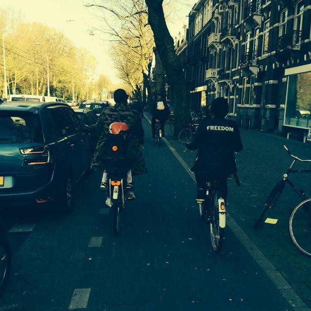 Beyonce i Jay Z zabrali Blue Ivy na wycieczkę rowerową