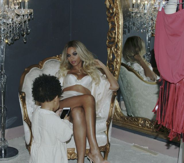 Córka Beyonce słodycze je TYLKO na specjalne okazje