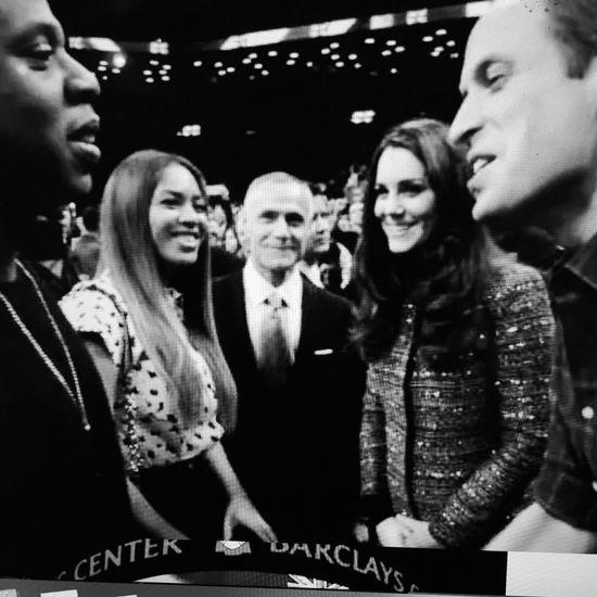 Beyonce przeżywa spotkanie z księżną Kate (FOTO)