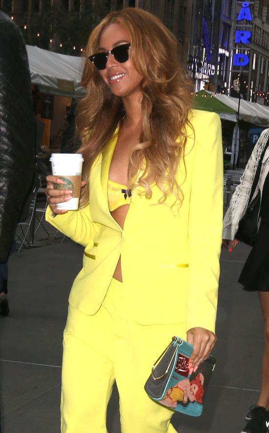 Beyonce wydała kamerzystom pewien rozkaz. Jest w ciąży?