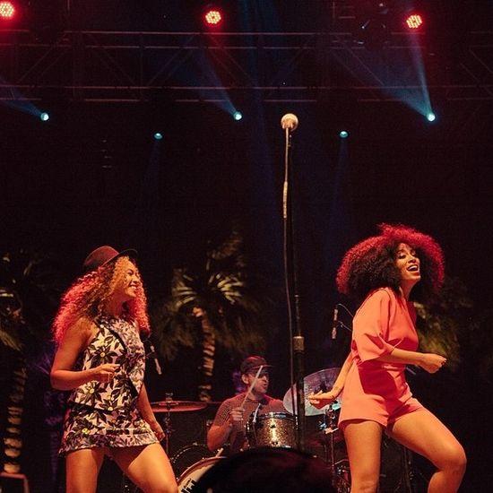 Beyonce nieproszona wdarła się na scenę! (FOTO)