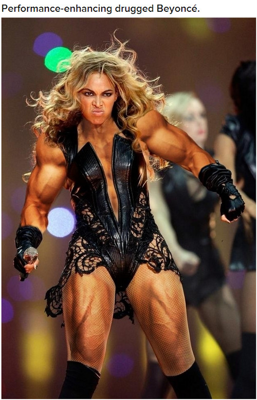 Z internetu miały zniknąć brzydkie zdjęcia Beyonce (FOTO)